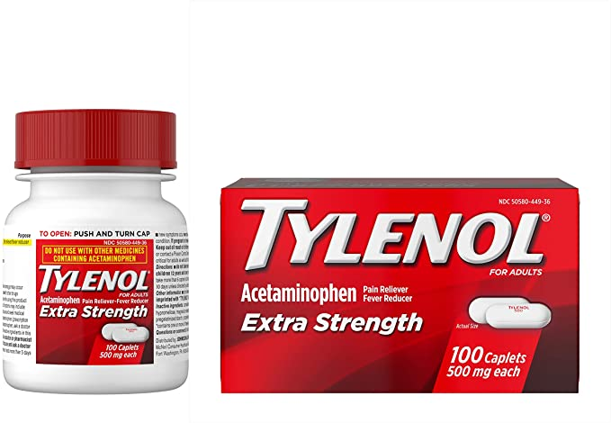 Number seven is a picture of Tylenol.