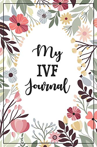 IVF tip #2- Keep a journal. This is a picture of an IVF specific journal.